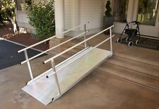 8 Foot Gateway Wheelchair Ramp w Handrails - Brand New- Fast Shipping!  EZ-Acces