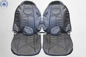 Housse de Siège Pour Mercedes Benz SLK R171 2004–2011 Noir Neuf
