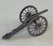 Vintage K&S Pewter Miniature Cannon Model
