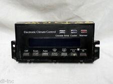 89-93 CADILLAC DE VILLE ELECTRONIC CLIMATE CONTROL