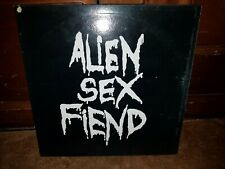 * ALIEN SEX FIEND - All our Yesterdays - 1988 original vinyl album