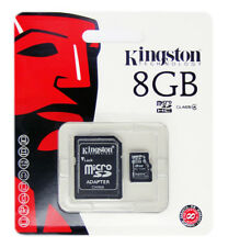 Kingston 8GB 8 GB SDC4 Micro SD HC SDHC Flash Memory Card Class 4 TF