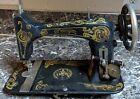 """Eldredge Improved Eldredge """"B"""" Sewing Machine Antique Treadle"""