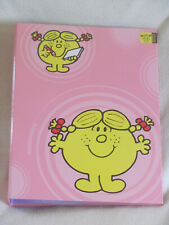 LITTLE MISS SUNSHINE A4 folder Mr Men Roger Hargreaves collectable vintage