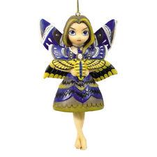 # New Jasmine Becket Griffith Fairy Ornament Moth Queen Fairie Yellow Purple