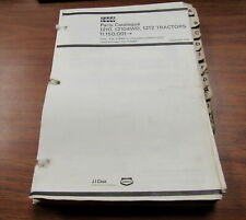 Case David Brown 1210 12104VVD 1212 Tractors Parts Catalog Manual 9-39052 1979