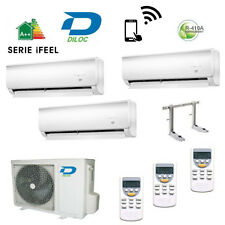CLIMATIZZATORE TRIAL SPLIT DILOC INVERTER 9+9+9  A+ COMPRESSORE SHARP/PANASONIC