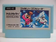 NES -- ICE CLIMBER -- Famicom. Japan game. Work fully!! 10115