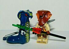 lego Ninjago movie Skales Serpentine Hypnobrai /& Pyro Slayers Viper  fire