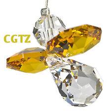 Austrian Crystal Guardian Angel Birthstone Suncatcher Topaz Nov WS CGTZ