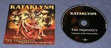 2000 METAL ~ KATAKLYSM ~ The Prophecy (Stigmata) ~ RARE PROMO ~ PROMOTIONAL CD