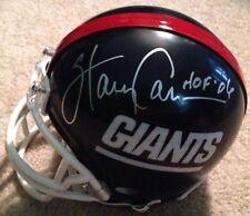 Harry Carson Signed New York Giants Mini Helmet Coa