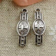 Free Ship 1000 pieces tibetan silver wrist watch charms 23x8mm #111