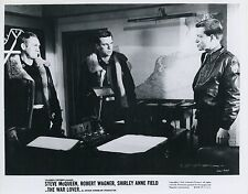 STEVE McQUEEN  ROBERT WAGNER THE WAR LOVER 1962 VINTAGE PHOTO ORIGINAL N°3