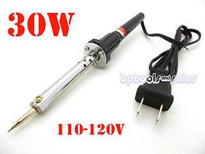 New 30W IRON SOLDERING GUN Electric Welding Solder 110V - 120V Home Shop Gun