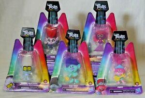 Lot of 5 DreamWorks Trolls World Tour Toys Hasbro Action Figures Poppy Barb
