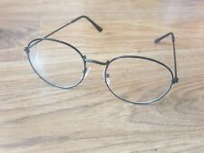 Black Circular Glasses - Harry Potter Dress Up VGC Clear Lens