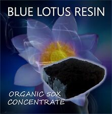 Blue Lotus 50 X resin extract- 10 grams - From Thailand- BUY 3 GET 4 OFFER