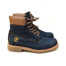 Timberland x White Oak Limited Release Denim 6-Inch Boots Size US: 9 / EU: 43