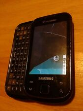 Samsung SCH-R88C Blue, powers up/Cracked Scn Clean ESN unlocked for parts D4