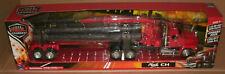 1/32 Scale Mack CH Logging Truck Tractor Trailer Model Semi - New Ray 13133 Red