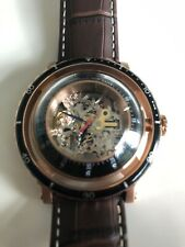 Christian Van Sant Men's Dome Rose Gold Stainless Steel Automatic Mint