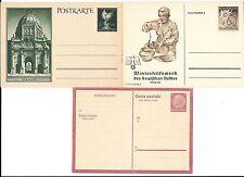 Germany- 5 interesting postal cards as shown-(decent price W W II )