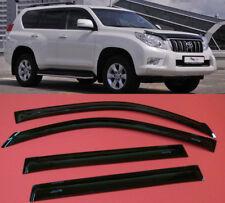 Toyota LC Prado 150 SMOKE TINT WINDOW VISOR SHADE/VENT WIND/RAIN DEFLECTOR 4pcs