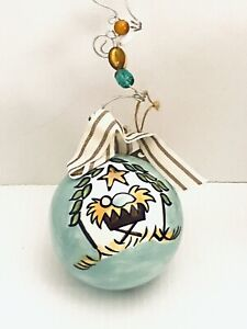 New Glory Haus Christmas Ornament Joy To The World Nativity Baby Jesus Heavy