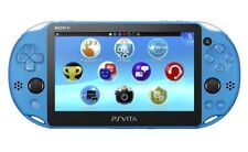 NEW SONY PS Vita PCH-2000 ZA23 Aqua Blue Console Wi-Fi model JAPAN IMPORT