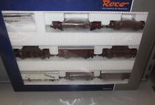 Roco H0 44002 _ 8 x DB Güterwagen Set , Ep: III _ NEU