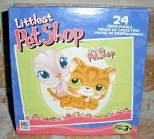 Littlest Pet Shop RARE 24 pc Puzzle ORANGE TABBY CAT & Pink Bird VHTF 2005