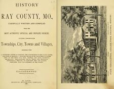 1881 RAY County Missouri MO, History and Genealogy Ancestry Family Tree DVD B23