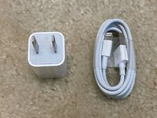 Apple 1 m / 3 ft Lightning Cable & 5W Wall Charger Adapter for iPhone & AirPods