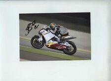 Scott Redding Suter Moto GP Quatar GP 2010 Signed 3