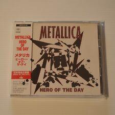 METALLICA - HERO OF THE DAY - 1996 JAPAN CD SINGLE 6-TRACKS