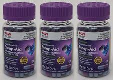 360-Gelcaps CVS Rapid Release Sleep Aid Diphenhydramine HCI 25mg Generic ZzzQuil