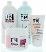 Hairbell Shampoo+Balsamo+Maschera+Haircream Pro Come Capelli Jazz Capelli Plus