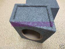 """2 Qpower 6x9 Enclosures 6"""" x 9"""" Car Speaker Slant Style Enclosure 6 x 9 Boxes"""