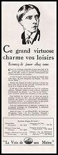 Publicité Gramophone La Voix de son Maitre  vintage print ad  1930 - 1i