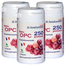 3 Dosen Nativ OPC 250 Premium 216 Stk., aus französischen Trauben, VEGAN