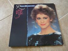 Reba McEntire Autographed Signed Behind The Scene LP Album Record