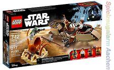LEGO 75174 Star Wars Desert Skiff Escape Han Solo Chewbacca Boba Fett  N1/17
