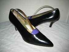 WALTER STEIGER Leather Pumps Shoes Women's Size 7.5 B Hand  Made In ITALY.