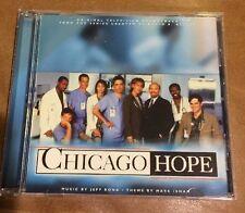 CHICAGO HOPE (1994 TV Series) Soundtrack CD Music by Jeff Rona & Mark Isham NEW