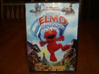 Sesame Street The Adventures of Elmo in Grouchland DVD PBS