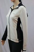 Ralph Lauren Active Black And Cream Full Zip Hooded Jacket ~NWT~