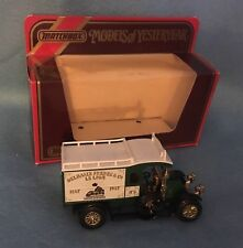 1910 Renault Type AG ~ Y-25 Models Of Yesteryear ~ 1:38 ~ 1986 Matchbox ~