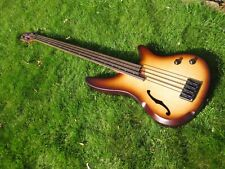Ibanez 4 string fretless bass SRH500F - semi hollow body, active preamp