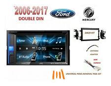 FORD MERCURY 2006-2017 2 DIN CAR STEREO KIT, TOUCHSCREEN BLUETOOTH USB DVD